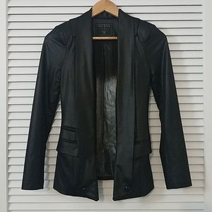 Guess Black Metallic Blazer